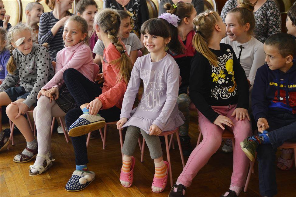 Поездка в Детский дом: дарим улыбки детям!