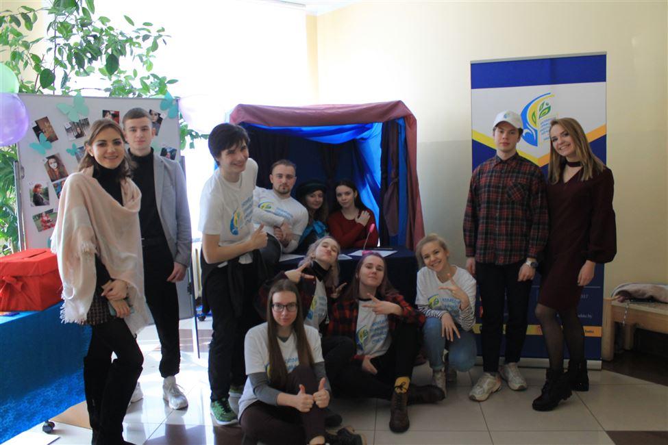 Ярко, шумно, весело встретили 8 Марта вместе с Профкомом студентов!