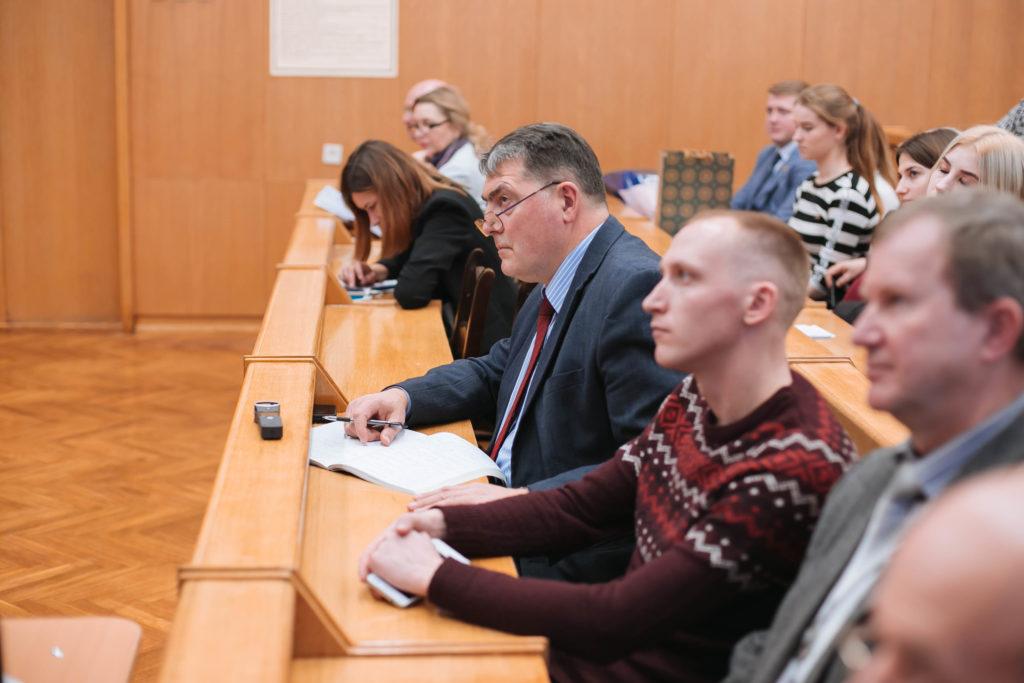 Встреча Председателя ФПБ со студентами